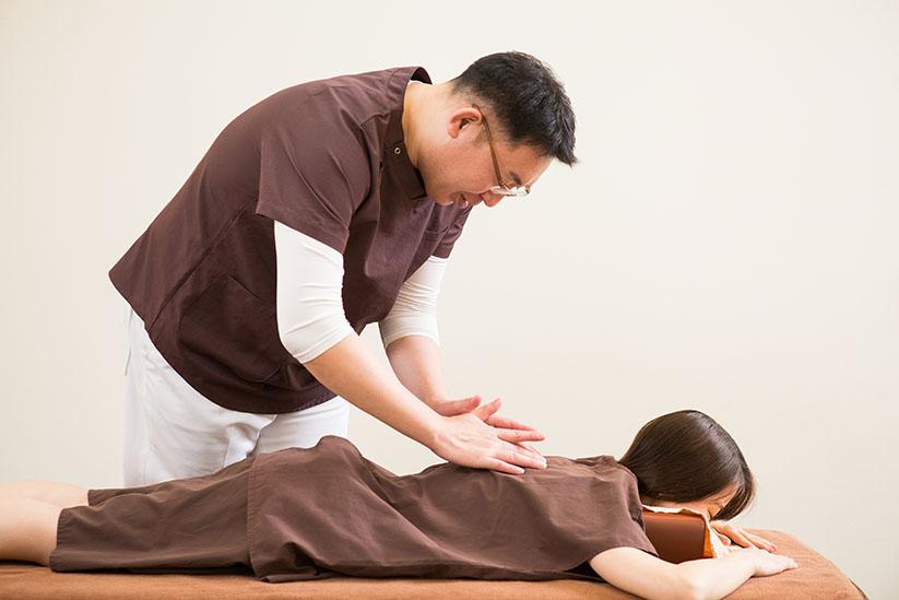 背骨の検査