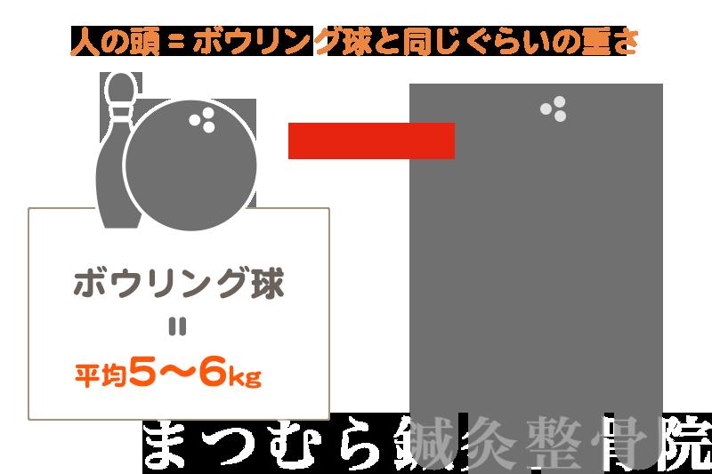 人の頭の重さ