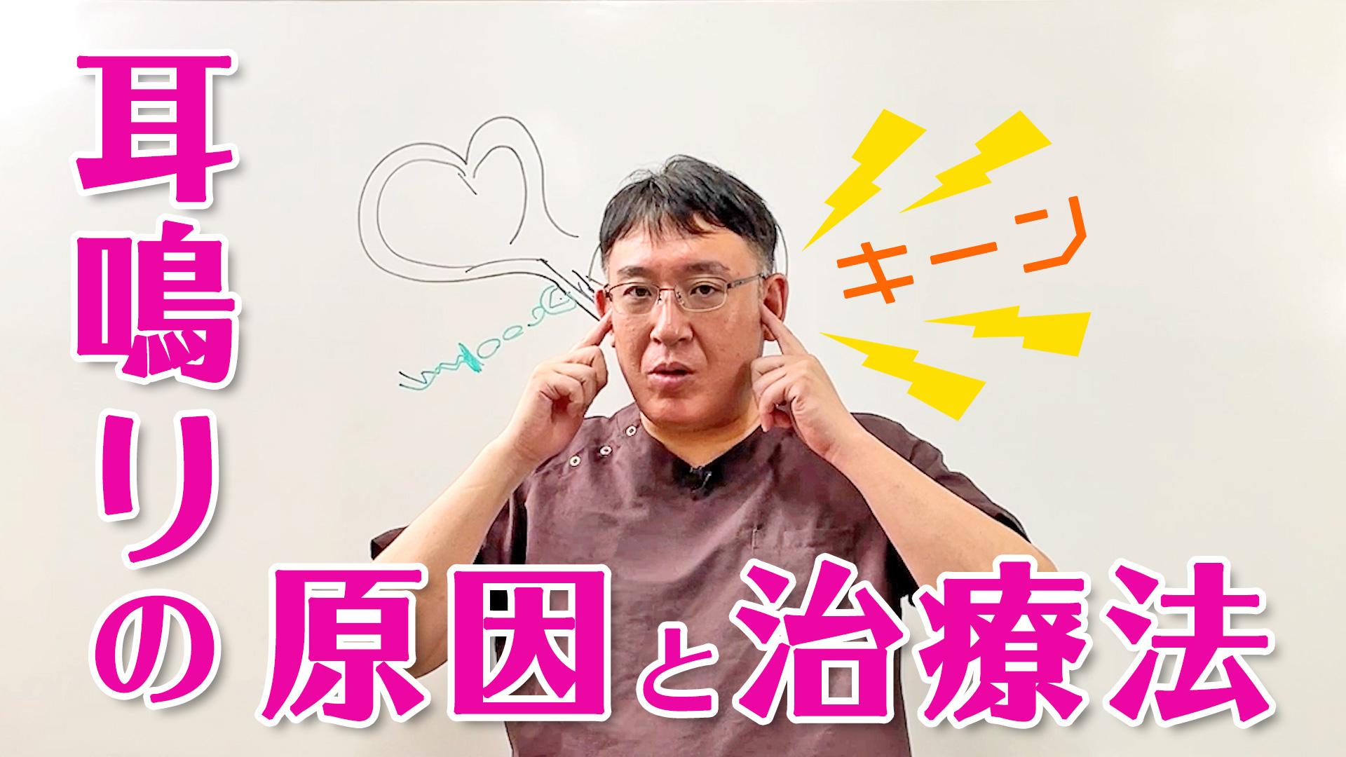 Youtube動画アップしました【耳鳴りの7つの原因】ストレスな耳鳴りの原因と治療法 難聴とメニエルの関係